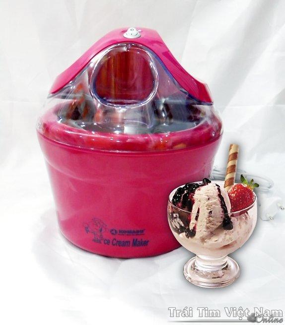 Máy làm kem tươi mini cho gia đình, máy làm kem cho cửa hàng ,máy làm kem hoa quả chỉ trong...